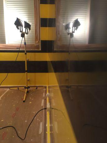 Estuco Veneciano Original a rayas amarillas y negras Borussia Dortmund (3)