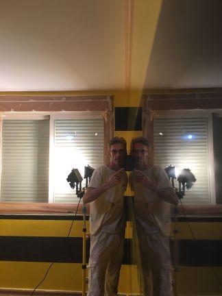 Estuco Veneciano Original a rayas amarillas y negras Borussia Dortmund (4)