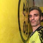 Estuco Veneciano Original a rayas amarillas y negras Borussia Dortmund (57)