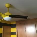 Estuco Veneciano Original a rayas amarillas y negras Borussia Dortmund Decoracion (4)