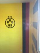Estuco Veneciano Original a rayas amarillas y negras Borussia Dortmund - Terminado dia (10)