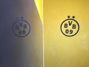 Muestras Estuco Negro y Amarillo con Escudo (11)