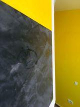 Muestras Estuco Negro y Amarillo con Escudo Flash (10)