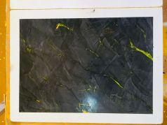 Muestras de Estuco Negro - Amarillo Flash (1)