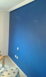 Dormitorio Sideral S-500 Blanco roto y Esmalte Pymacril Azul Oscuro (2)