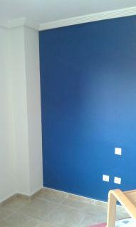 Dormitorio Sideral S-500 Blanco roto y Esmalte Pymacril Azul Oscuro (9)