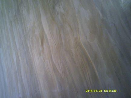 Estuco Marmoleado a 2 colores Marrones 1ª Mano de Cera 4