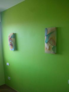 dormitorio verde oscur y verde claro 11