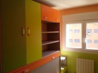 Habitacion Infantil Plastico Sideral Naranja y Esmalte Valacryl color verde con mueble (13)