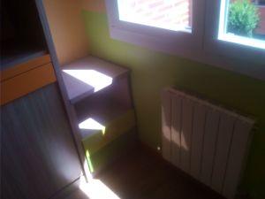 Habitacion Infantil Plastico Sideral Naranja y Esmalte Valacryl color verde con mueble (4)