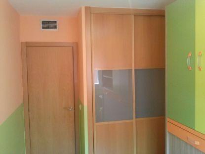 Habitacion Infantil Plastico Sideral Naranja y Esmalte Valacryl color verde con mueble (9)