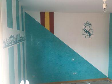Colocacion de Vinilos Real Madrid (1)