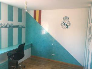 Estuco Veneciano Real Madrid con vinilos terminado (mañana) (18)