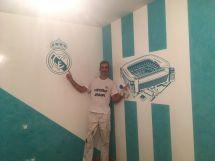Estuco Veneciano Real Madrid con vinilos terminado (noche) (2)