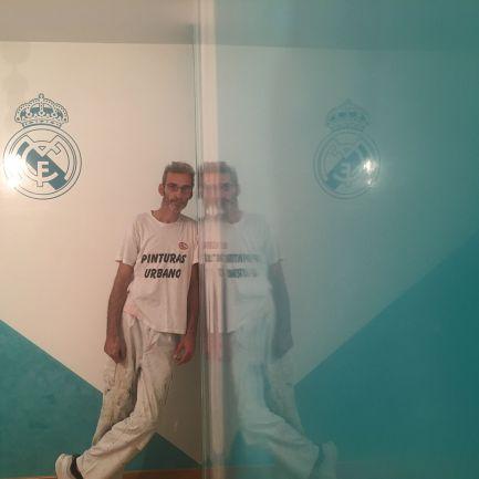 Estuco Veneciano Real Madrid con vinilos terminado (noche) (21)