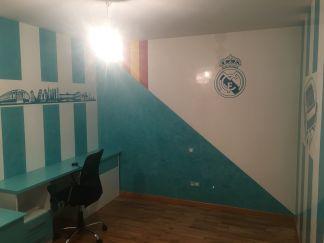 Estuco Veneciano Real Madrid con vinilos terminado (noche) (4)