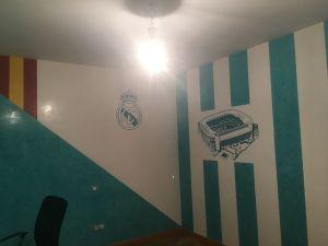 Estuco Veneciano Real Madrid con vinilos terminado (noche) (7)