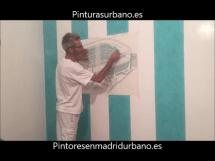 Instalando Vinilo Santiago Bernabeu