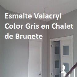 Icono Esmalte Valacryl color gris S-2000-N