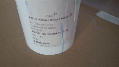 Esmalte pymacril azul oscuro S-1040-R80B