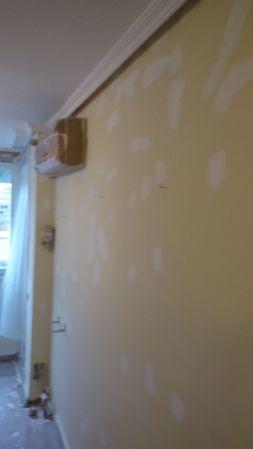 1ª mano de plastico y replastecido en techos y paredes (3)