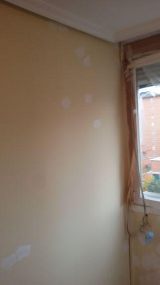 1ª mano de plastico y replastecido en techos y paredes (4)