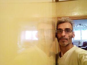 Reflejos sobre estuco veneciano original de 1995 color beige (3)
