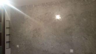 Estuco Veneciano gris y banco con cera alex (1)