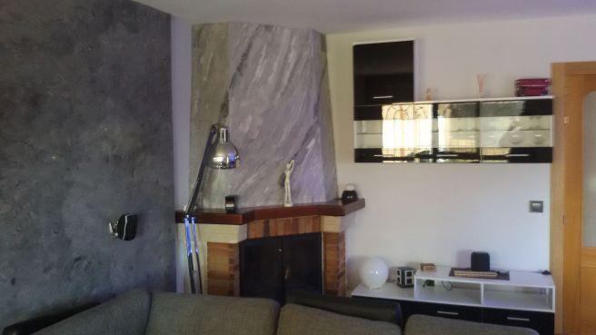 estuco marmoleado a 3 colores en chimenea con cera alex - Decoracion (4)