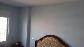 Esmalte Valacryl color azul grisacio en dormitorio (5)