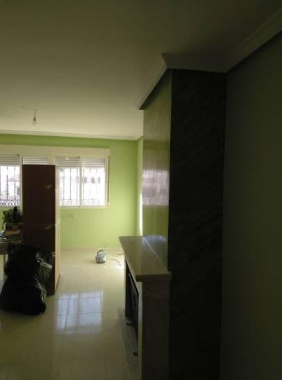 Estuco Veneciano Espatuleado con Veteado color Verde (6)