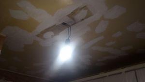 Replastecido de techos wc, tendedero y cocina (4)