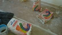 1 y 2 Tendida de Aguaplast rellenos en techos y paredes (1)