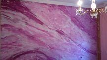 Estuco Marmol Violeta Oscuro y Blanco - Violeta Claro y Blanco (4)