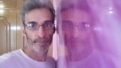 Estuco Marmol a 3 colores Violeta con cera (25)