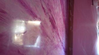 Estuco Marmol a 3 colores Violeta con cera (7)