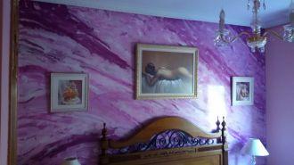 Estuco Marmoleado a 3 colores Violeta - Decoracion (2)