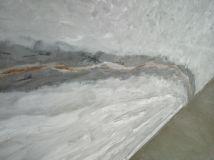 Estuco Efecto Marmol Negro, Gris, Crema, Marron y Oro Metalizado (5)