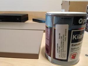 Esmalte laca kilate color gris S-1500-N