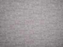 Papel pintado gris y plata ladrillo (2)