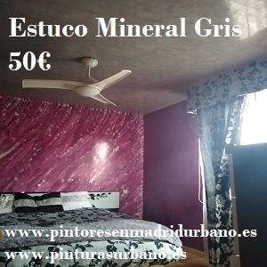 Oferta Estuco Mineral Gris