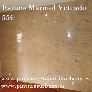 Oferta Estuco Marmol Marrón a 4 colores
