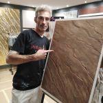 Efecto Piedra Partida tono marron (2)