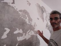 Colocacion de papel pintado mapa mundial (12)