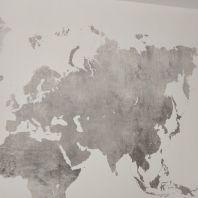 Colocacion de papel pintado mapa mundial (22)