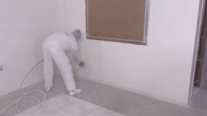 imprimacion al agua en paredes con airless 2