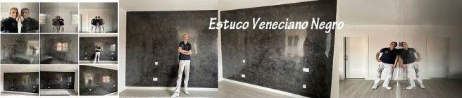 Banner Estuco Veneciano Negro