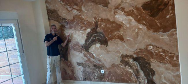 Estuco Marmol Piedra Marron 5 colores (8)