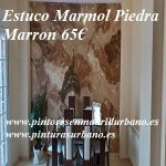 Oferta Estuco Marmol Piedra Marron