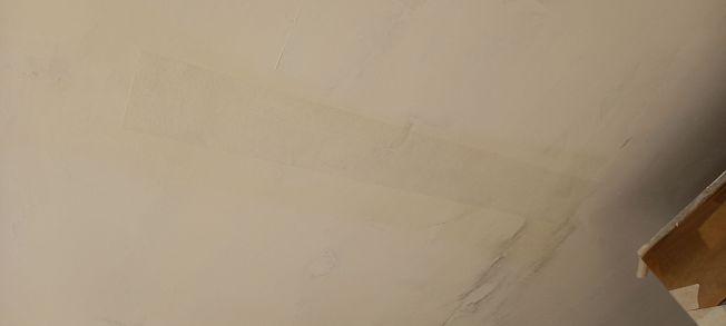 Tiras de veloglas en fisuras y en grapas (5)